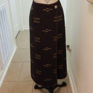 Lauren Blanket Long Skirt FAB 10